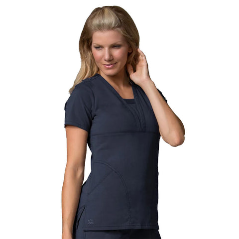 Navy blue nursing home uniforms, navy care home uniforms & veterinary scrubs.