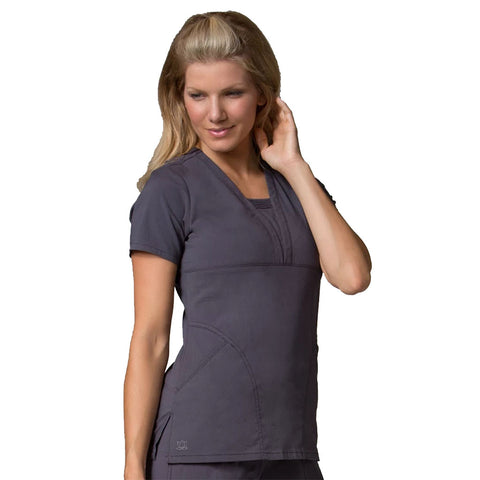 Flexible nursing scrubs and nurses scrubs that give you room to move around on the ward.