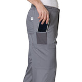 Mens Maevn 8308 scrub trousers with mobile phone pocket...#medicaluniforms.