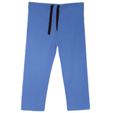 Ceil blue discount medical uniforms that are perfect as nurse uniform trousers, dentist uniforms or male nurse uniforms.