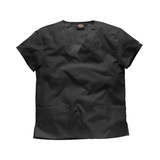 Clothes Uniforms has the widest selction of black scrub tops, just like this Dickies black scrub top.