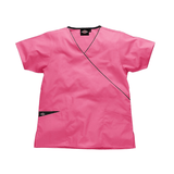 This pink Dickies scrub top will convey compassion in your care home uniforms & nursing home uniforms.