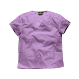 Purple scrubs for women and purple scrubs for men now on sale.