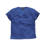 Royal blue scrubs available from the Dickies workwear collection.
