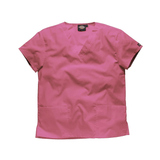 Pink doctors scrubs will brighten up any hospital ward.