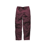 Wine plus size scrub trousers and men's scrub pants for a professional look.