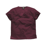 Wine scrubs for nurses in sizes XS - 3XL from the Dickies scrubs range.