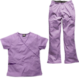 Do you want your nursing home uniforms to be quiet formal? Choose Dickies orchid purple care home uniforms