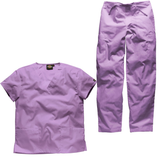 Dickies scrubs sets in orchid light purple...dress head to toe this year in the noble colour.