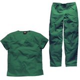 Green nursing home uniforms and green care home uniforms will create a soothing effect.