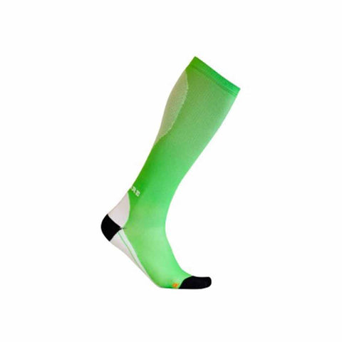 Light Green Running Compression Socks 1514-2 With Free Delivery