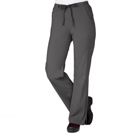 Pewter grey dog grooming uniforms, physiotherapy uniform & nurses uniform trousers