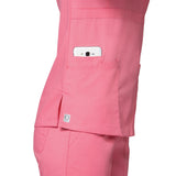 Gorgeous dog grooming uniforms & dog grooming apparel with mobile phone pocket.