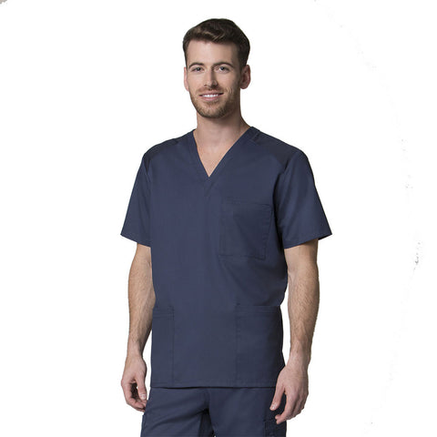 Navy blue mens scrubs, male nurses uniform, male doctors uniform