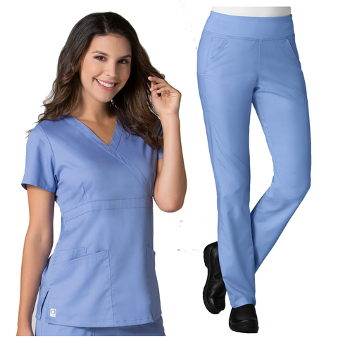 Ladies Maevn COOLMAX® Set suitable as healthcare uniforms, medical uniforms and dental uniforms.