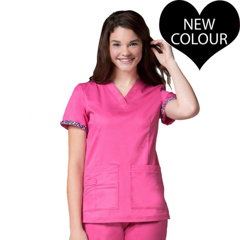 New Candy Pink Women's Primaflex 1722 Dental Uniforms, Nurses Uniforms & Medical Uniforms