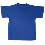 These cornflower scrub tops are great as comfy health uniforms, tunic uniforms for work or care workers uniforms.