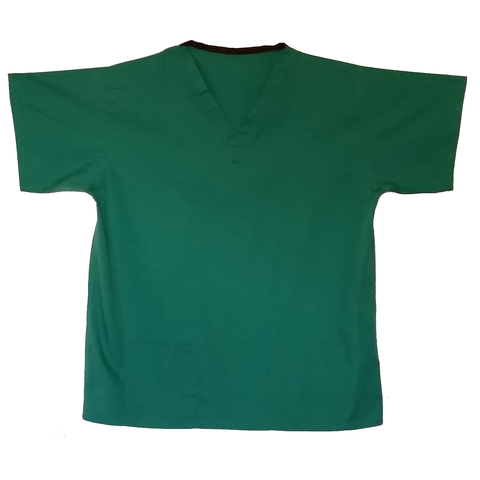 Bottle Green Dental Nurse Uniform. This mid green dental uniform is perfect for your surgery or practice.