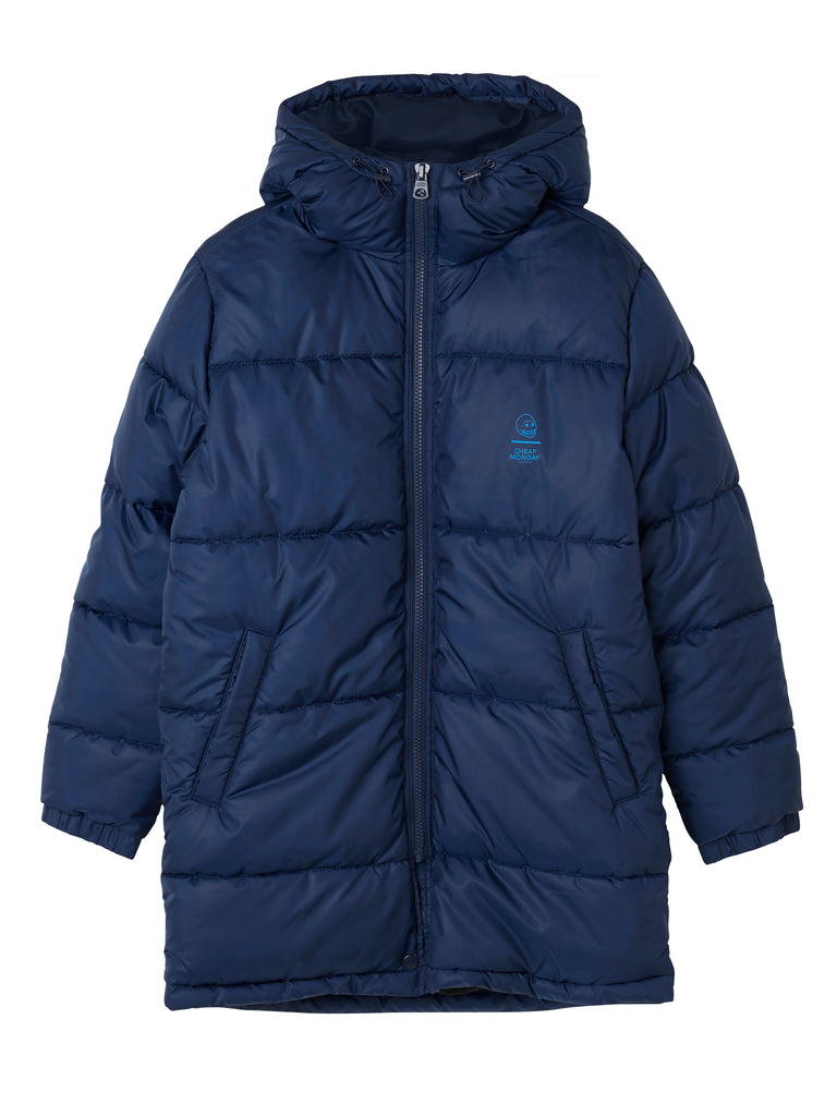 Cheap-Monday-Cocoon-Jacket-Blue