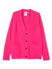Cheap Monday Deception cardigan Neon Pink