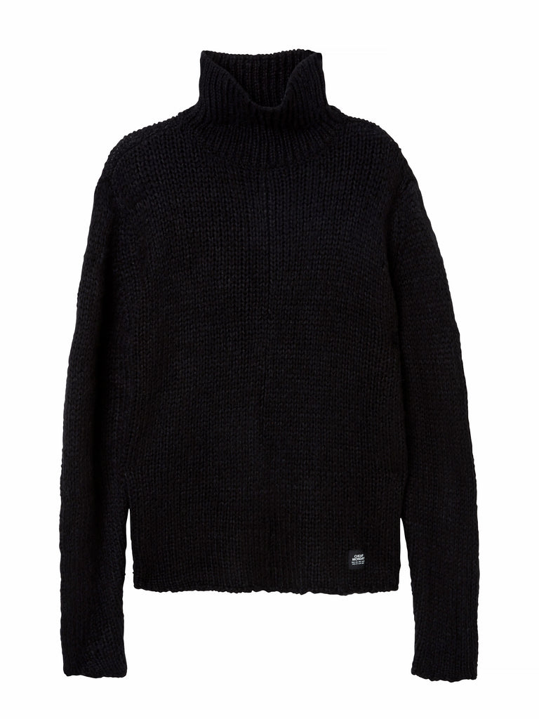 Cheap-Monday-Ignorant-knit-Black-Shirt