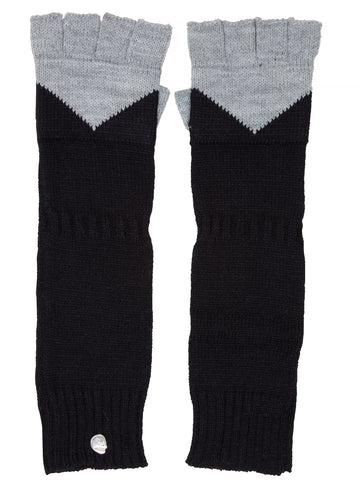 Cheap Monday Magic gloves CM Black/Grey Melange