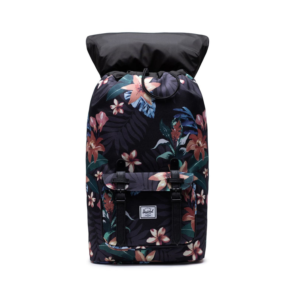 Herschel Supply Little America Summer Floral Black Sırt Çantası