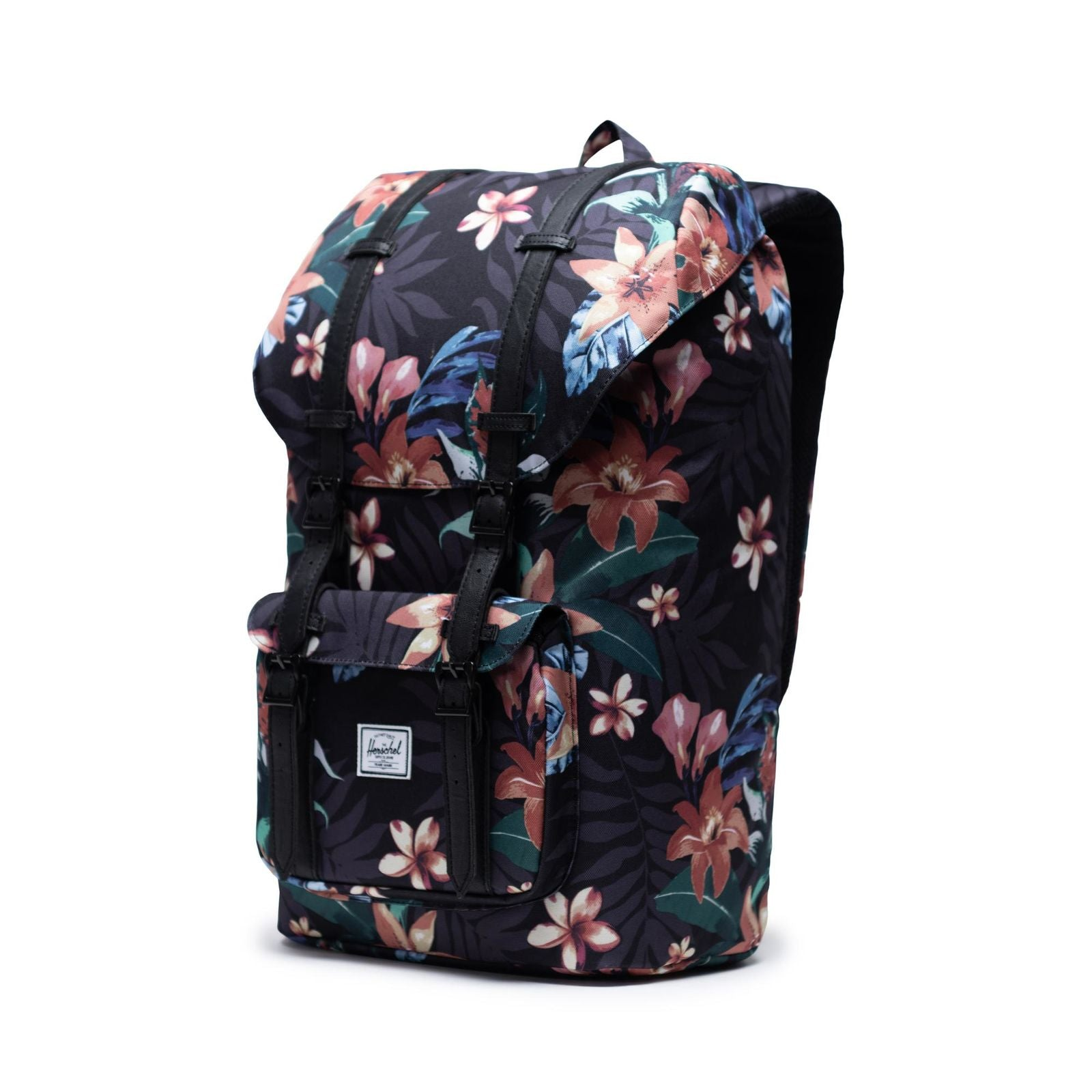 Picture of Herschel Supply Little America Summer Floral Black Sırt Çantası