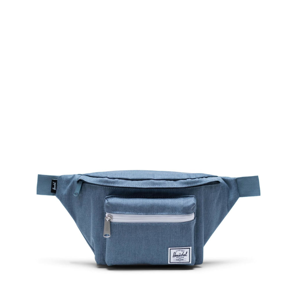 Herschel Supply Seventeen Blue Mirage Crosshatch Bel Çantası