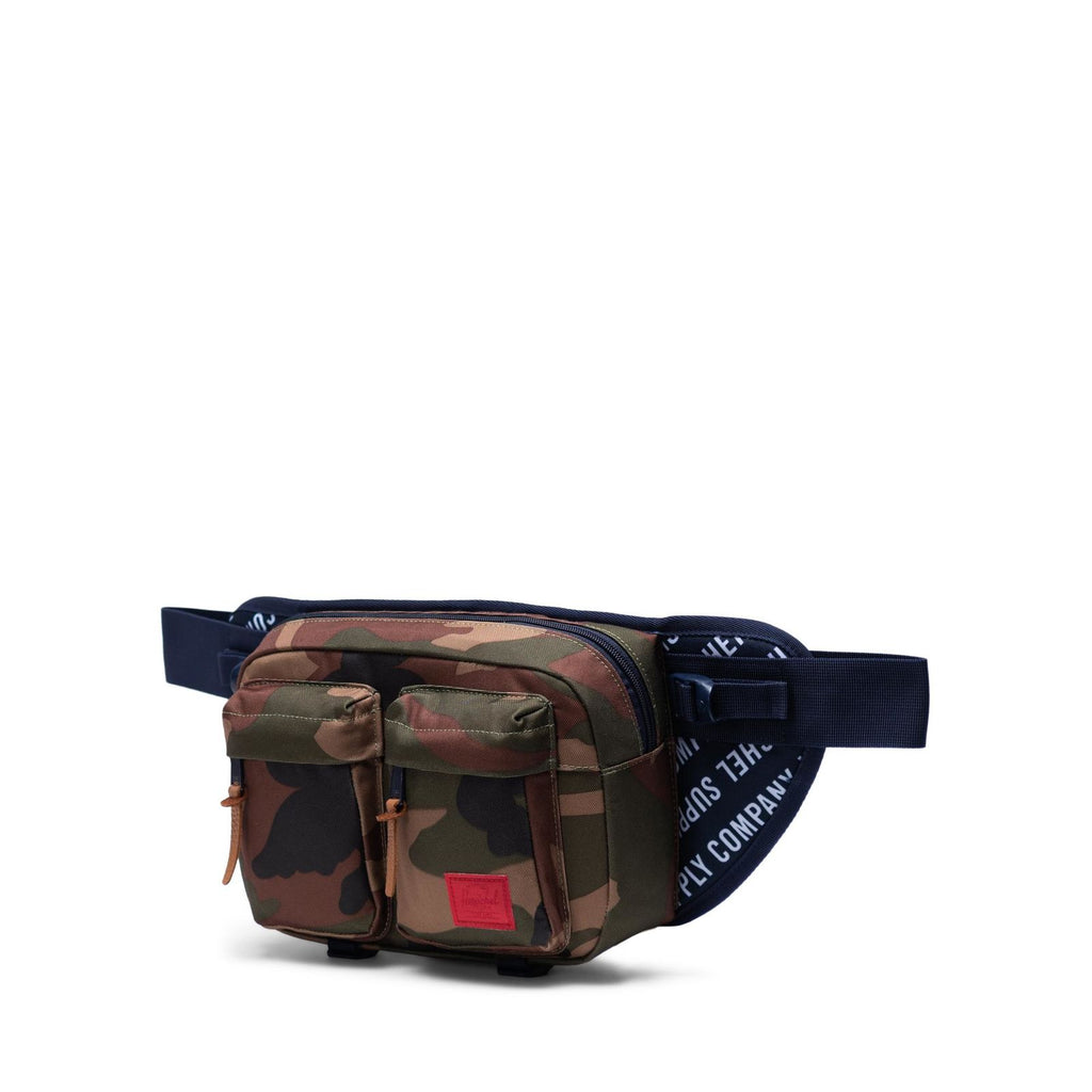 Herschel Supply Eighteen Roll Call Peacoat/Woodland Camo Bel Çantası