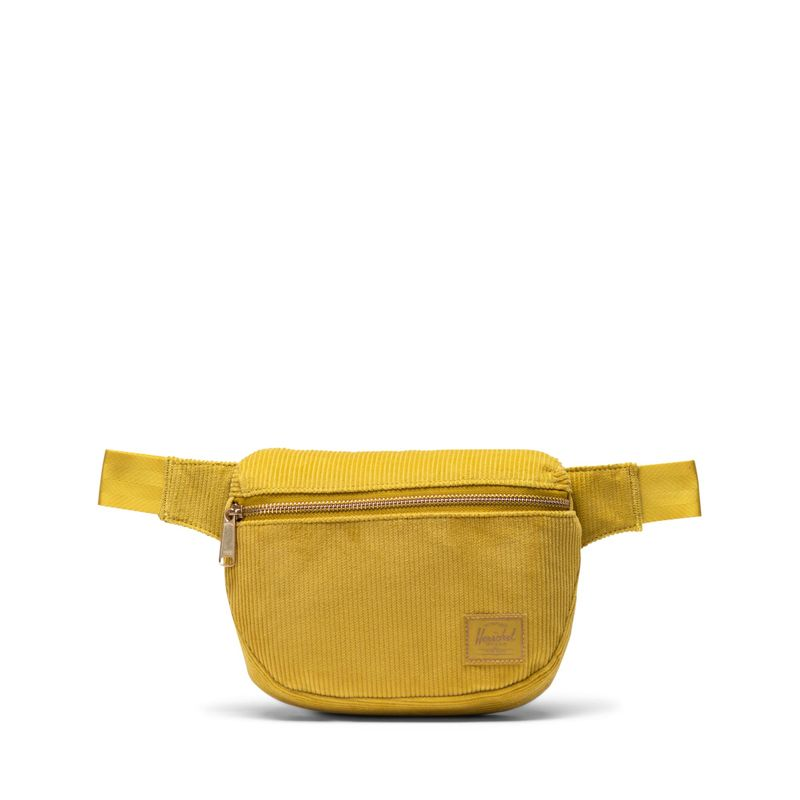 Herschel Supply Fifteen Cotton Golden Palm Bel Çantası