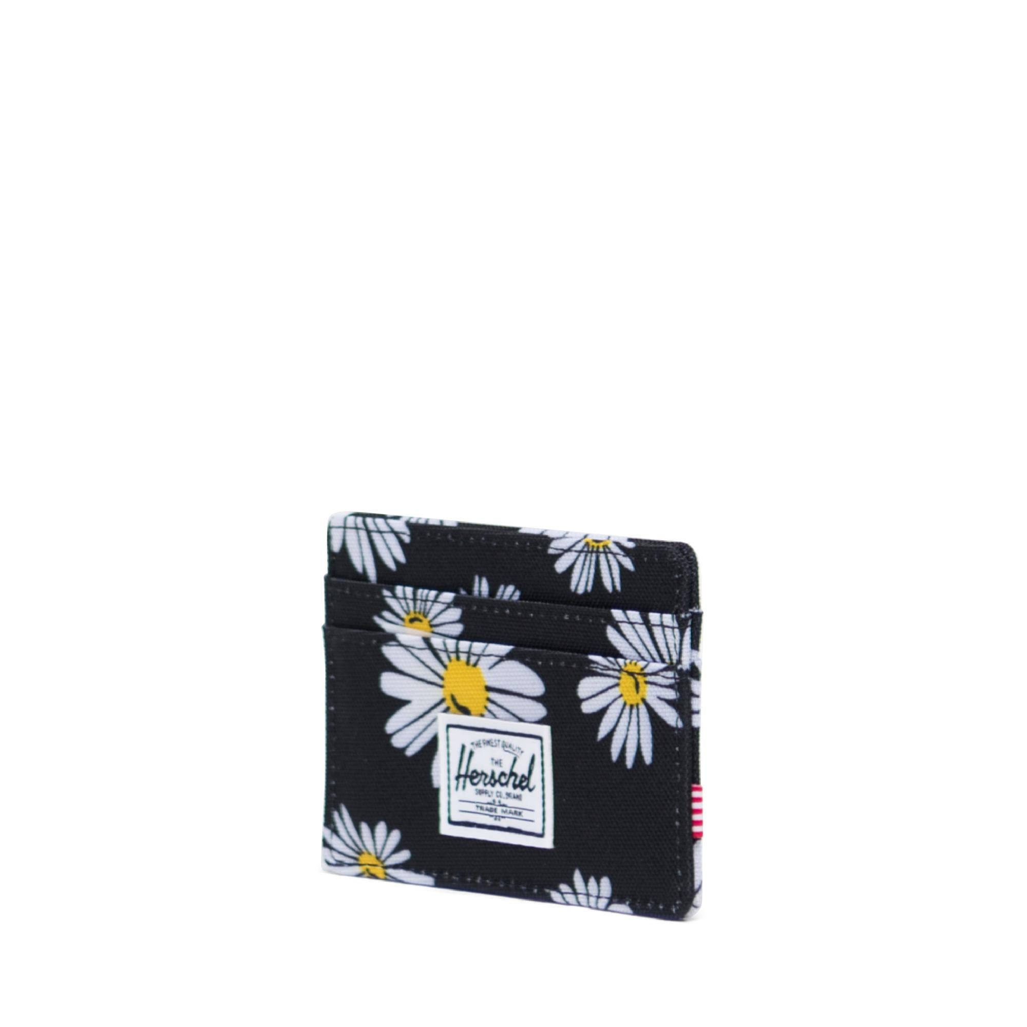 Picture of Herschel Supply Charlie RFID Daisy Black Kartlık