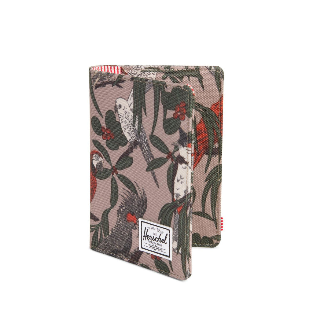 Herschel Supply Raynor Passport Holder RFID Brindle Parlour