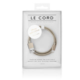 Le Cord Solid Gold