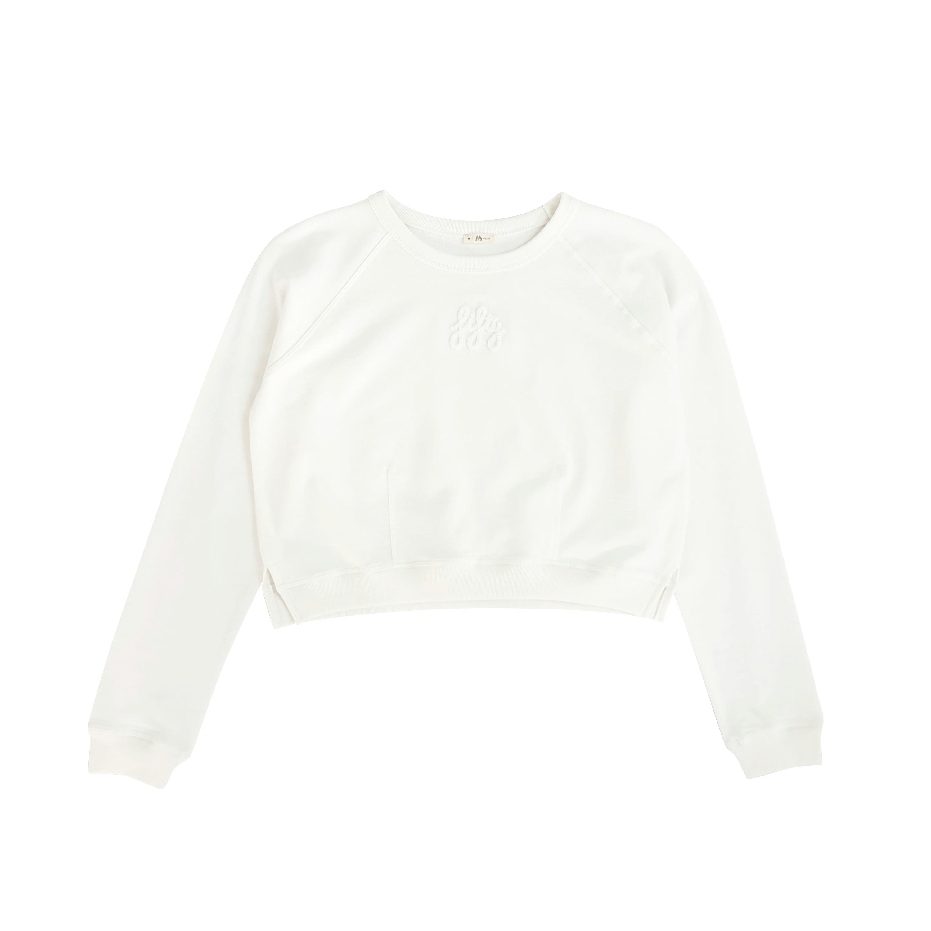 Picture of Fifty Pieces Baby Crop Sweat Ekru
