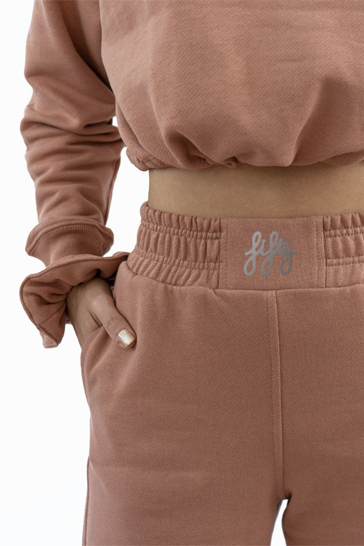 Picture of Fifty Pieces Loose Fit Joggers Nude