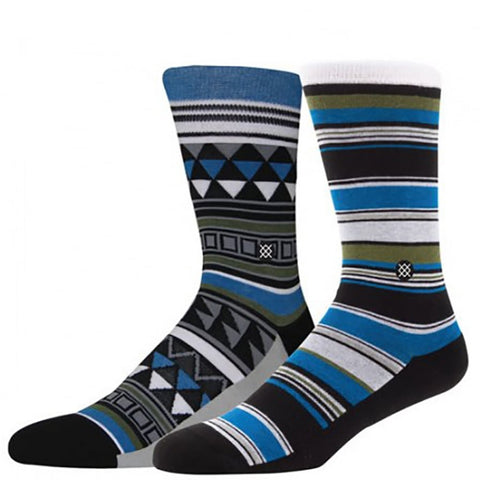 Stance Blue Womens TROPIC FEVER M