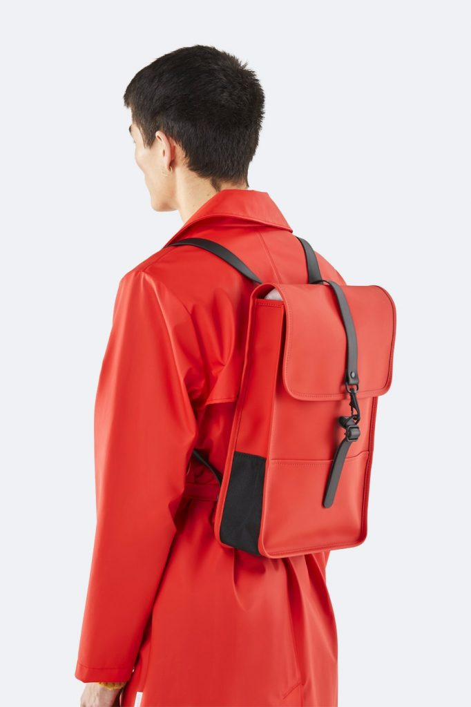 RAINS Backpack Mini Red Sırt Çantası