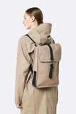 RAINS Backpack Mini Beige Sırt Çantası