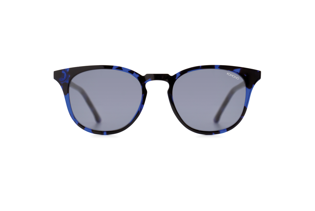 KOMONO BEAUMONT ACETATE TORTOISE BLUE