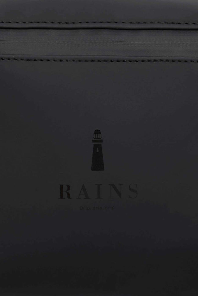 RAINS Bum Bag Black Bel Çantası