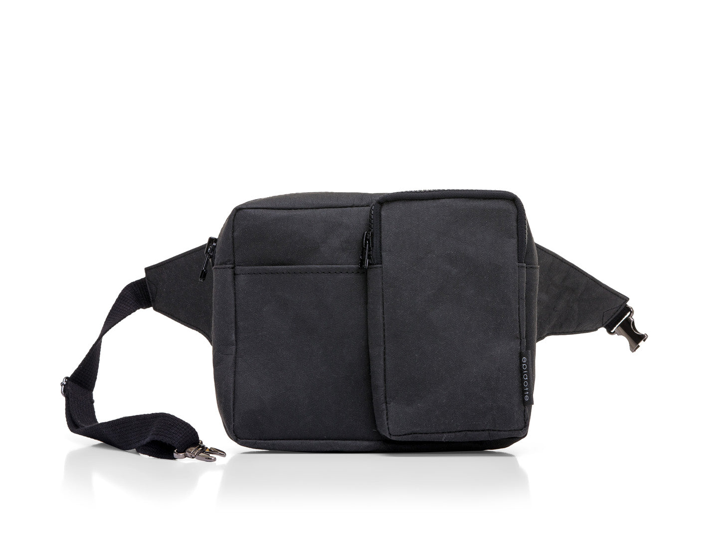 Picture of EPIDOTTE FANNY BAG BLACK BEL ÇANTASI