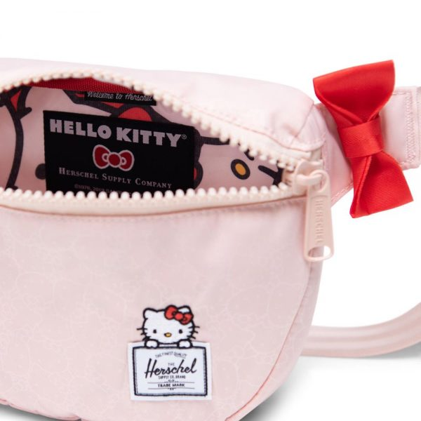 Herschel Supply Fifteen Hello Kitty Black Bel Çantası