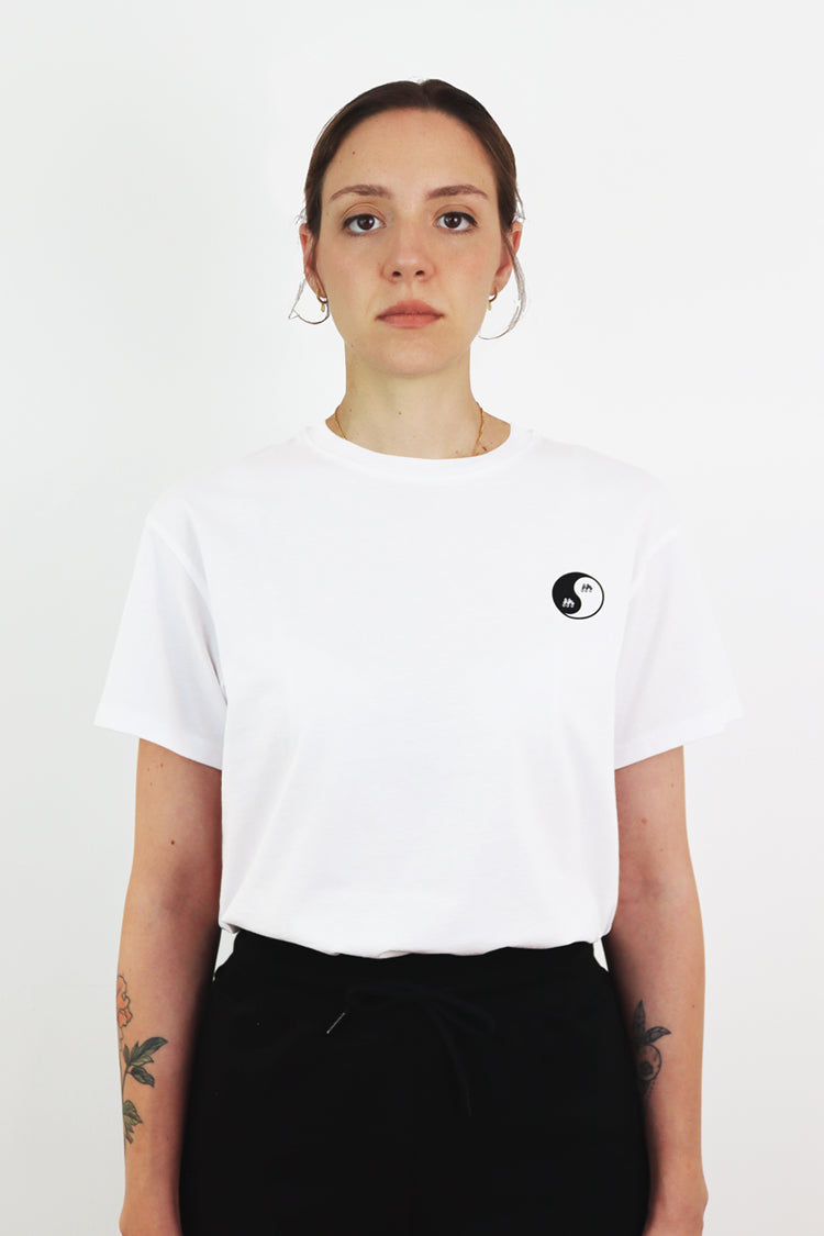 Picture of Fifty Pieces Yin-Yang Tee Beyaz