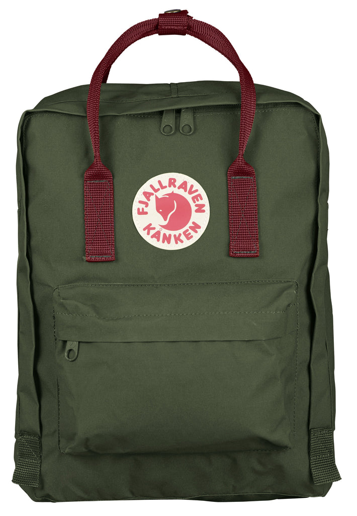 Kanken Classic Forest Green Ox-Red