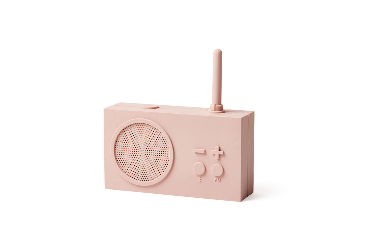 Picture of Lexon Tykho 3 Radyo ve Bluetooth Hoparlör Pembe