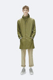 RAINS Long Jacket Sage
