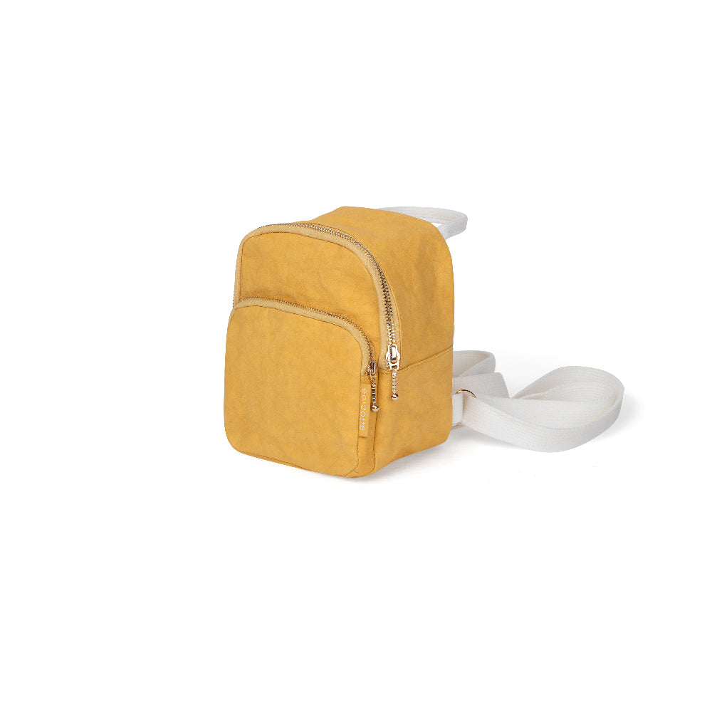 Picture of Epidotte MINI BACKPACK MUSTARD SIRT ÇANTASI