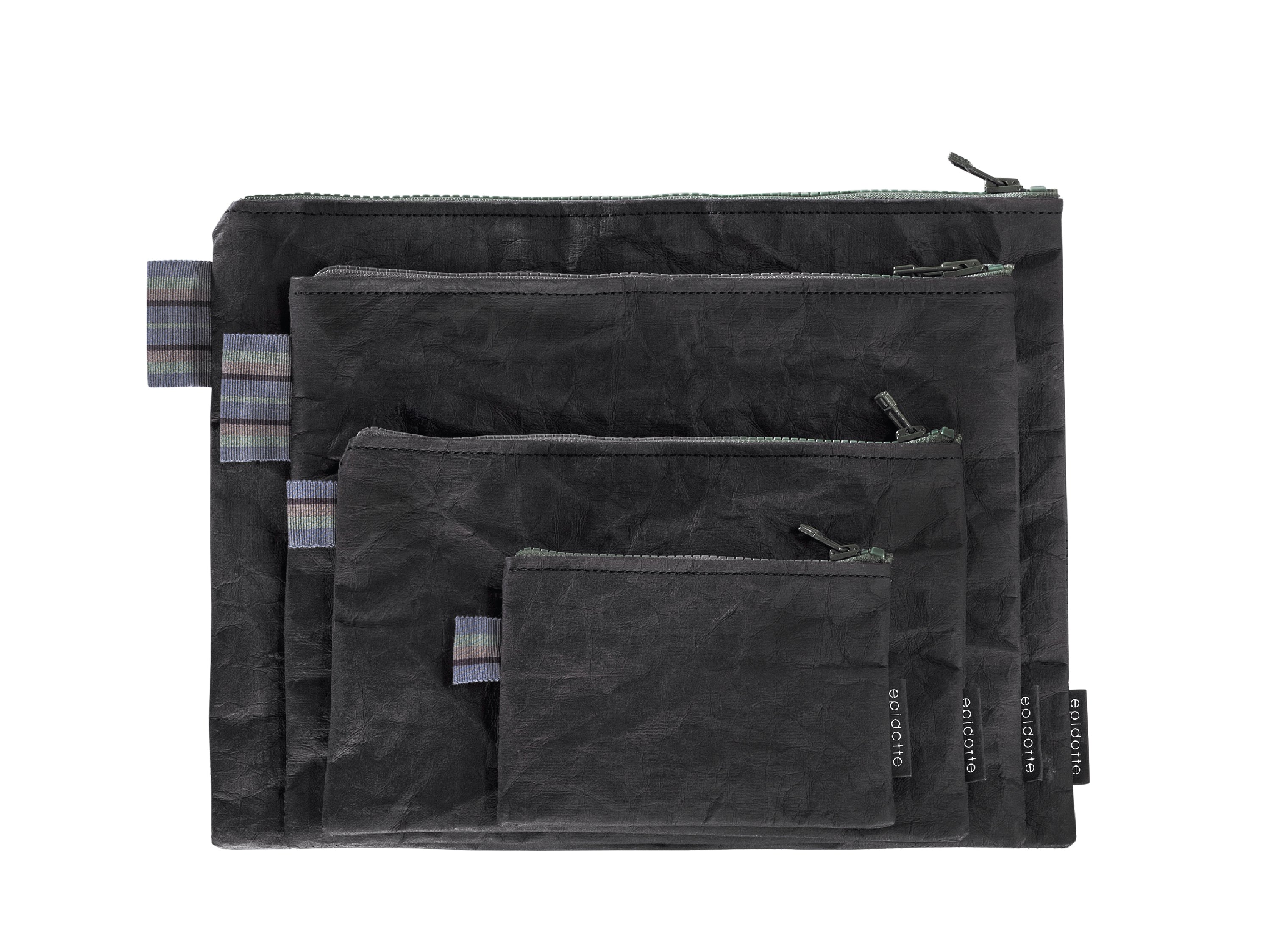 Picture of Epidotte POUCH BAG BLACK LARGE EL ÇANTASI