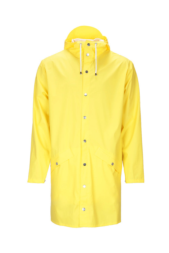 RAINS Long Jacket Yellow